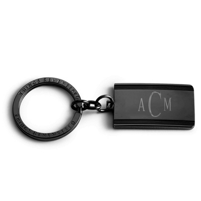 Engraved Monogrammed Key Chains