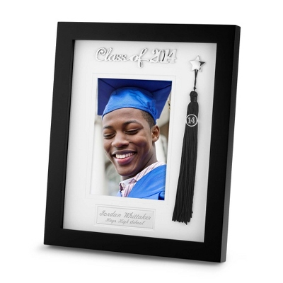 2014 Graduation Tassel Frame Engraved with Name and School