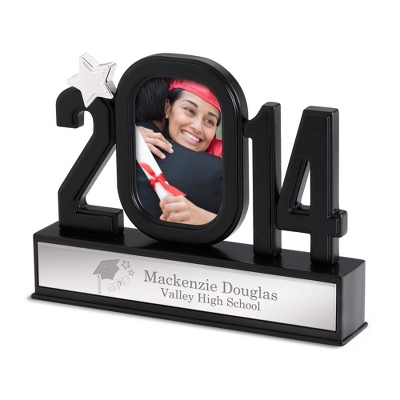 Engraved Grad Figural Frame with Engraving and Design - UPC 825008041202