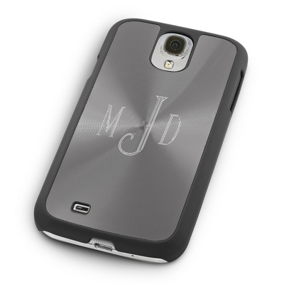Personalized Samsung Case with Monogram in Center - Phone Cases & Accessories
