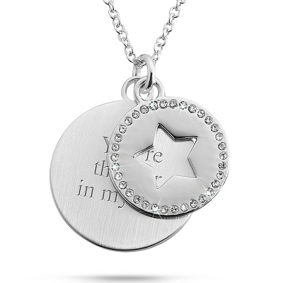 Silver Star Swing Necklace - Fashion Necklaces