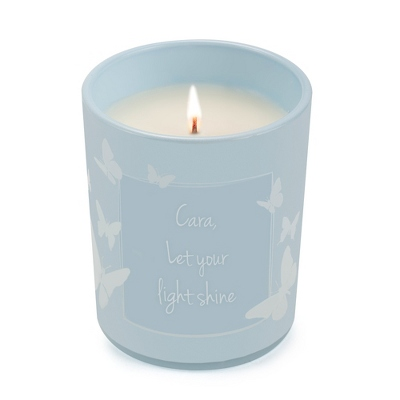 Personalized Butterfly Candle - $20.00