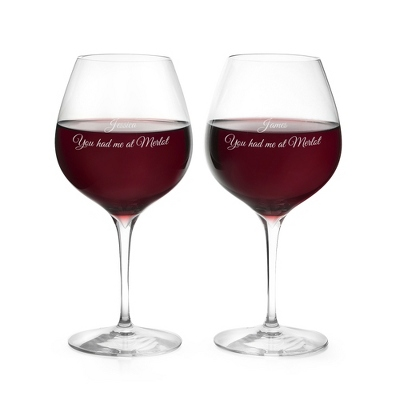 Waterford Elegance Merlot Wine Glasses