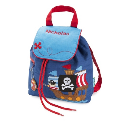 Pirate Quilted Backpack - School Supplies & Back Packs