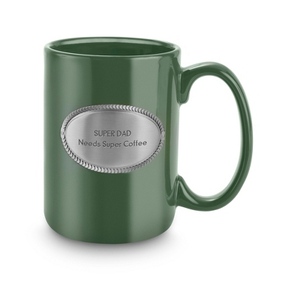 Green Ceramic Coffee Mug - Drinkware for Her