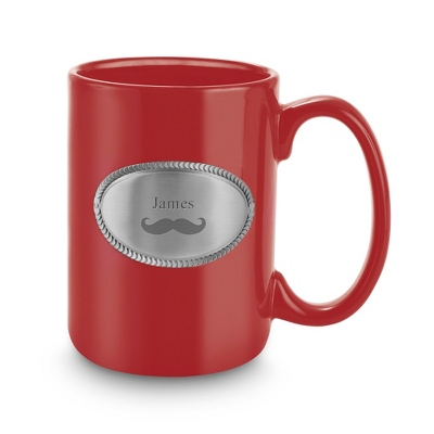 Red Ceramic Coffee Mug - Drinkware for Her