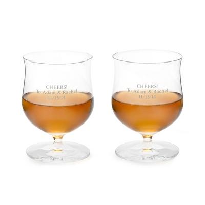 Waterford Elegance Single Malt Glass Pair - Bar Glasses