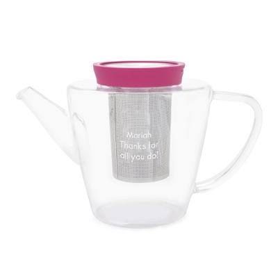 Fuchsia Viva Teapot