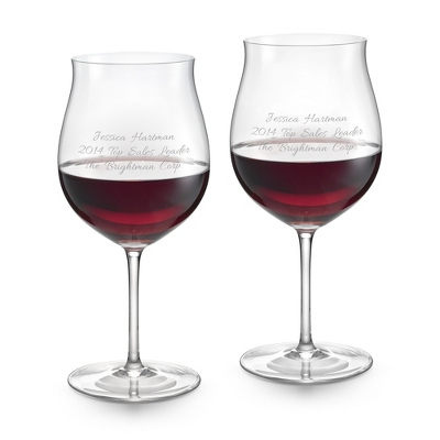 Burgundy Crystal Wine Glass Set by Riedel - Wine Glasses