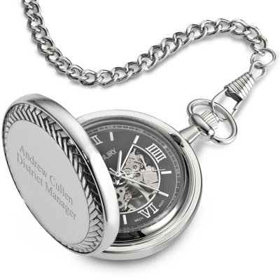 Black Pocket Watch