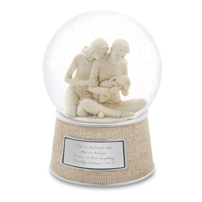 Personalized New Family Snow Globe by Things Remembered