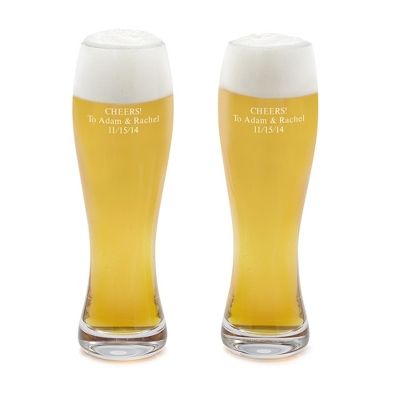 Waterford Elegance Pilsner Glass Set of 2 - UPC 825008060586
