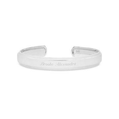 Sterling Silver Engraved Bracelets - 24 products