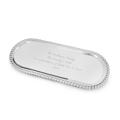 Mariposa Long Oval Tray - $85.00