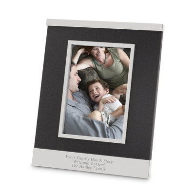 Black Linen 5x7 Picture Frame