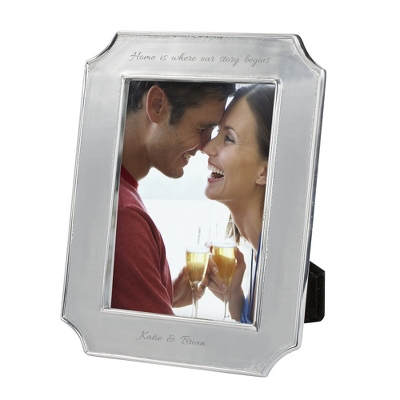Mariposa Reverse Scallop Edge 5x7 Frame - Portrait - Frames for Her
