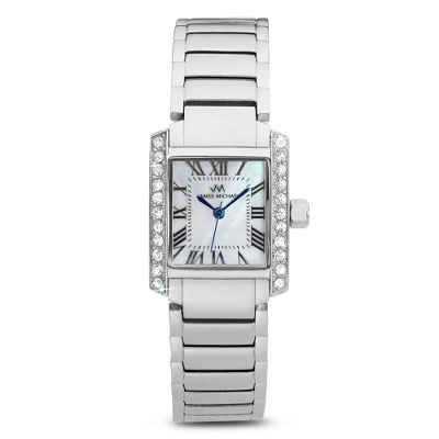 Roman Numeral Tank Watch - For Her