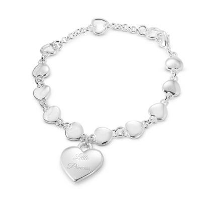 Linking Hearts Girl's Bracelet - $25.00