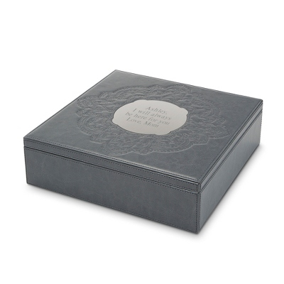 Personalized Leather Jewelry Box - 24 products