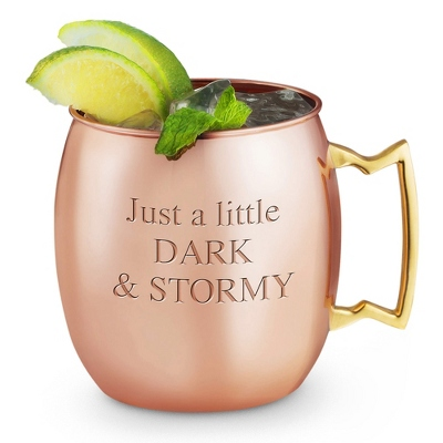 Copper Moscow Mule with Copper Lining - Barware & Accessories