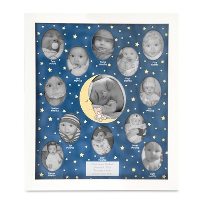 12 Months of Baby Picture Frame