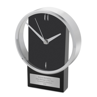 Personalized Contemporary Clock