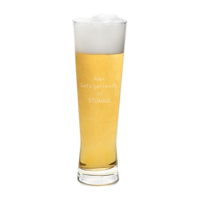 Personalized 20 oz. Pinnacle Pilsner Beer Glass