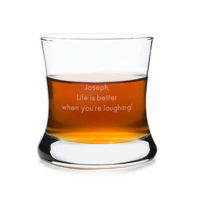 Engraved 8.5 oz. Bourbon Glass