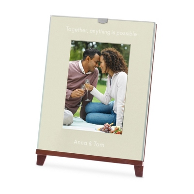 Easel Walnut 5x7 Photo Frame