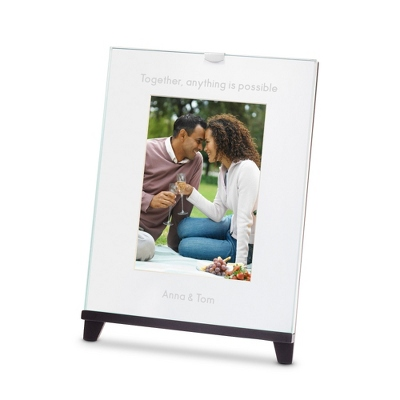 Easel Black 5x7 Photo Frame