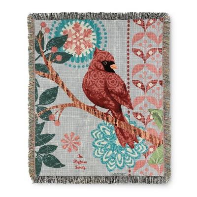 Cardinal Flower Throw - $34.99