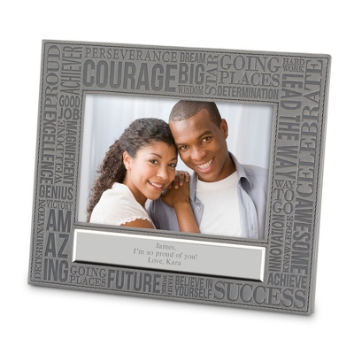 Success Personalized Word Cloud Frame