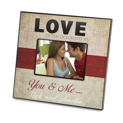 True Love Personalized Picture Frame