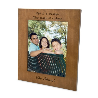 Cherry Wood 8x10 Photo Frame - $35.00