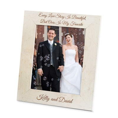 Ivory Wood 8x10 Picture Frame - Portrait - Frames