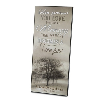 Personalized Memorial Wall Art