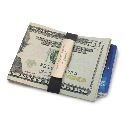 Money Clip with Band