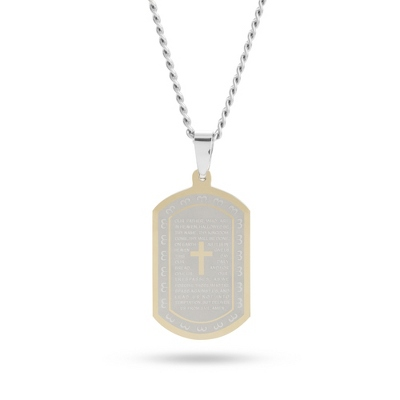 Gold Dog Tag for Men - 7 products