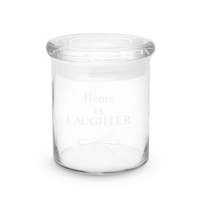 Personalized Medium Glass Storage Jar