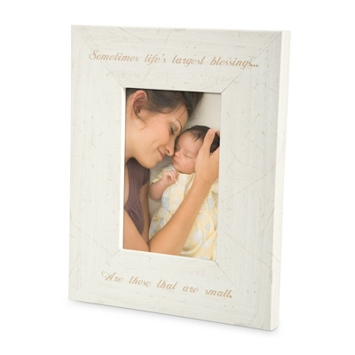 Cream Wood 4x6 Photo Frame - Portrait - For the Home