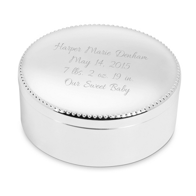 Tiny Prints Keepsake Box - For Kids