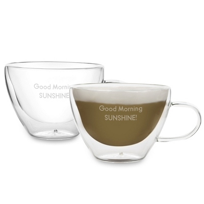 Luigi Bormioli Thermic Cappuccino Glass Set