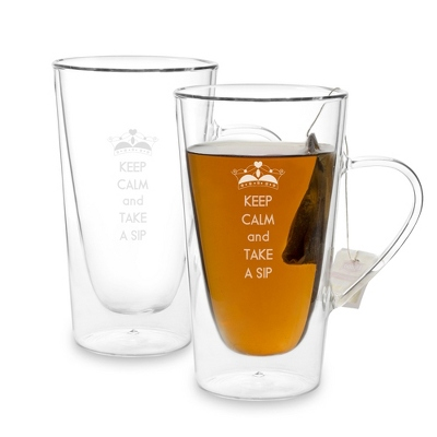 Luigi Bormioli Thermal Beverage Cup Set - $20.00