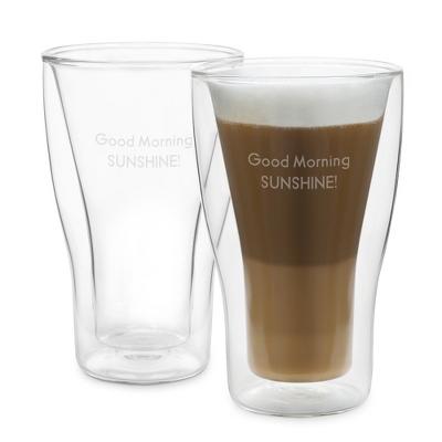 Luigi Bormioli Thermic Latte Macchiato Mug Set - Tea, Coffee & Travel Mugs