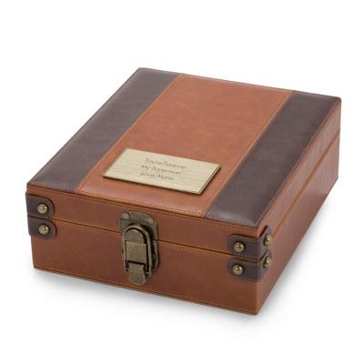 British Tan Valet Box