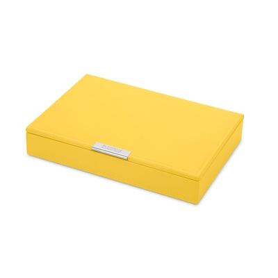 Medium Yellow Stacking Jewelry Box - Jewelry & Keepsake Boxes