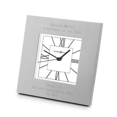 Howard Miller Silver Finish Kendal Clock
