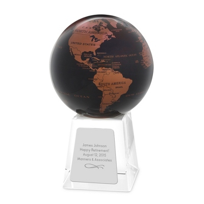Copper and Black MOVA Globe