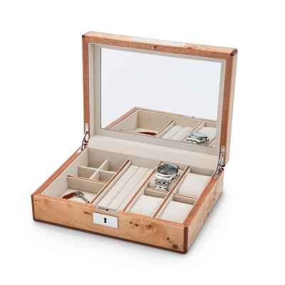 Brown Personalized Valet Box