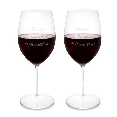 Riedel Veritas Cabernet Merlot Set of 2 Wine Glasses